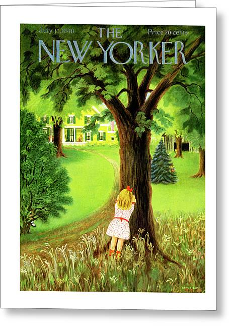 New Yorker July 17th, 1948 Greeting Card