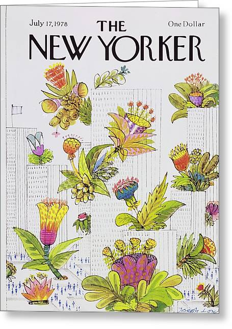 New Yorker July 17th 1978 Greeting Card