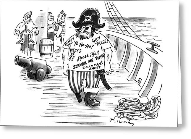New Yorker July 17th, 1995 Greeting Card by Mike Twohy