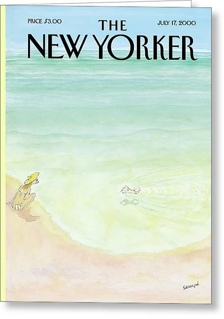 New Yorker July 17th, 2000 Greeting Card
