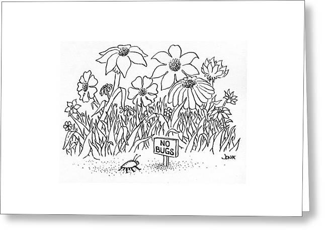 New Yorker July 19th, 1976 Greeting Card by John Jonik