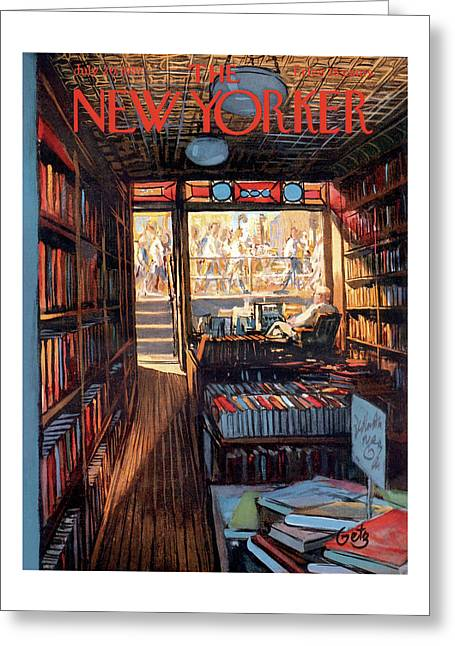 New Yorker July 20th, 1957 Greeting Card