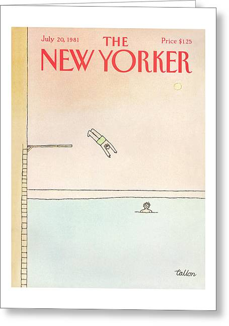 New Yorker July 20th, 1981 Greeting Card