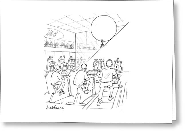 New Yorker July 20th, 1998 Greeting Card