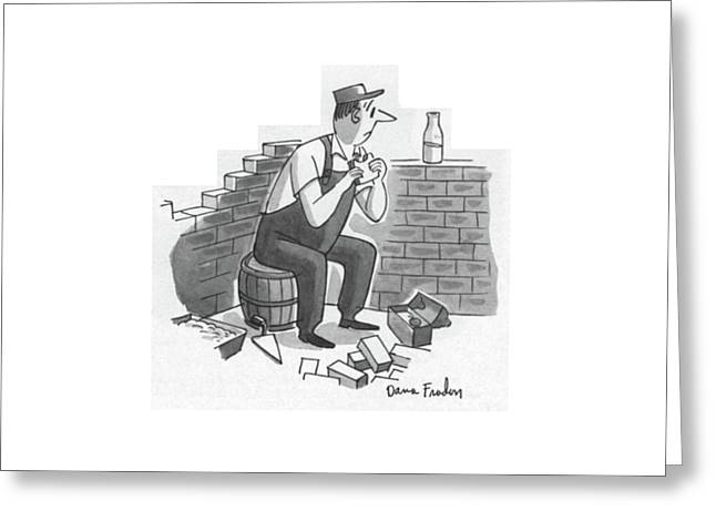 New Yorker July 21st, 1956 Greeting Card