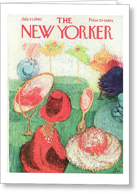 New Yorker July 21st, 1962 Greeting Card
