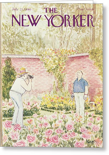 New Yorker July 21st, 1980 Greeting Card