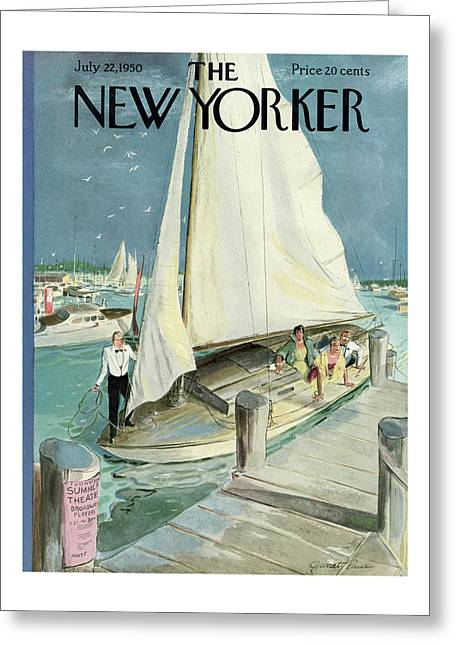 New Yorker July 22nd, 1950 Greeting Card