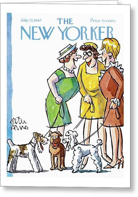 New Yorker July 22nd, 1967 Greeting Card