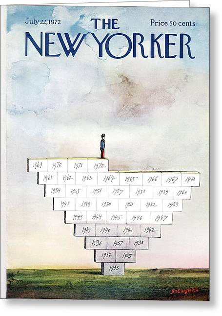 New Yorker July 22nd, 1972 Greeting Card