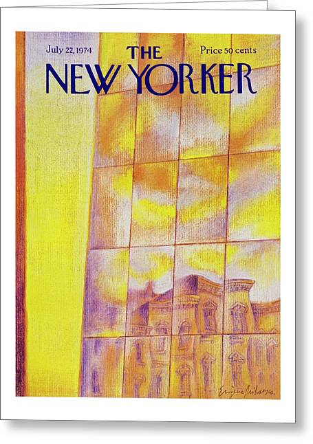 New Yorker July 22nd 1974 Greeting Card