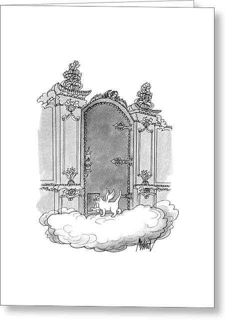 New Yorker July 22nd, 1991 Greeting Card by Kenneth Mahood
