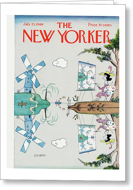 New Yorker July 23rd, 1966 Greeting Card