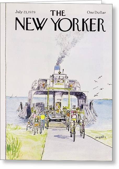 New Yorker July 23rd 1979 Greeting Card