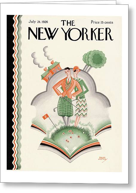 New Yorker July 24th, 1926 Greeting Card