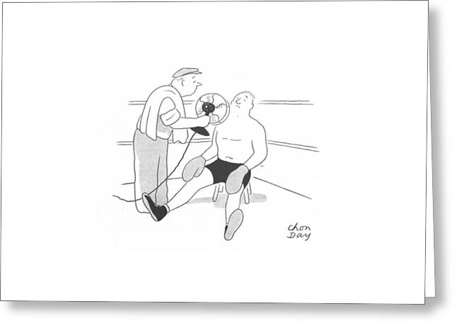 New Yorker July 24th, 1943 Greeting Card by Chon Day