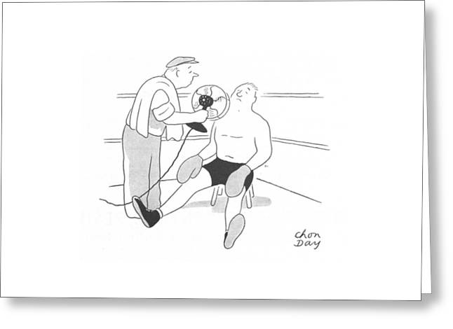 New Yorker July 24th, 1943 Greeting Card