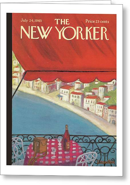 New Yorker July 24th, 1965 Greeting Card