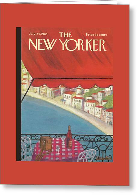 New Yorker July 24th, 1965 Greeting Card by Beatrice Szanton