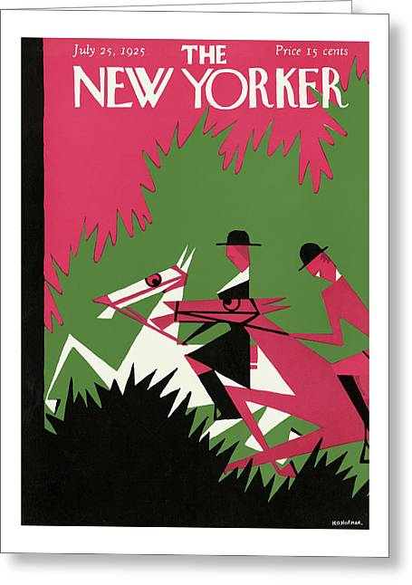 New Yorker July 25th, 1925 Greeting Card