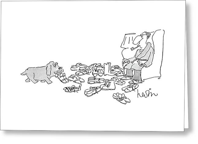 New Yorker July 25th, 1988 Greeting Card