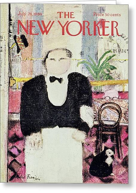 New Yorker July 26th 1969 Greeting Card
