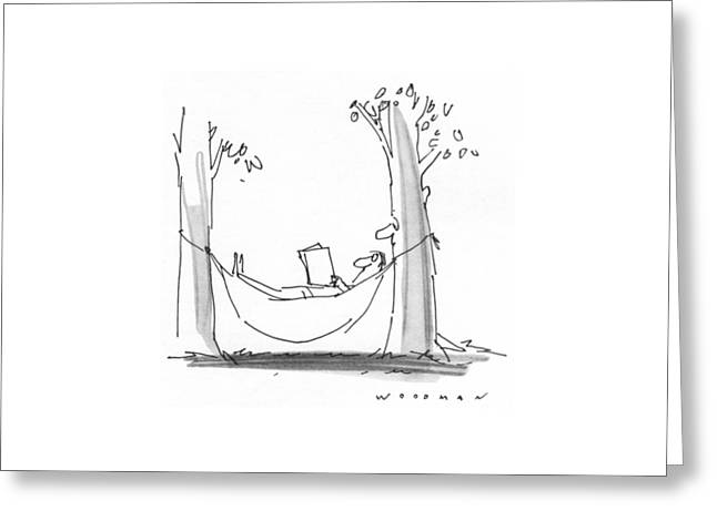 New Yorker July 26th, 1976 Greeting Card