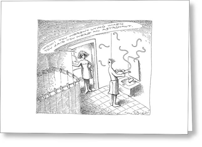 New Yorker July 26th, 1999 Greeting Card by John O'Brien