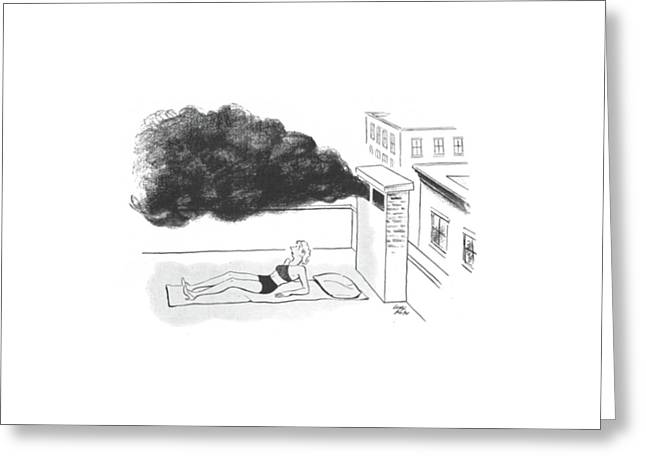 New Yorker July 27th, 1940 Greeting Card by Carl Rose