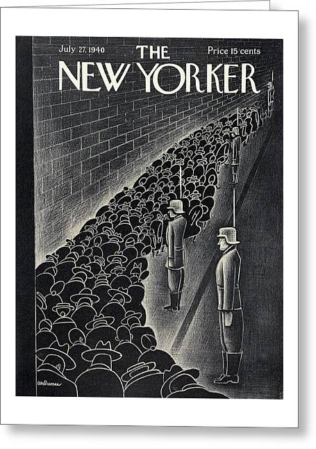 New Yorker July 27th, 1940 Greeting Card