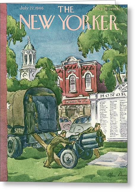 New Yorker July 27th, 1946 Greeting Card