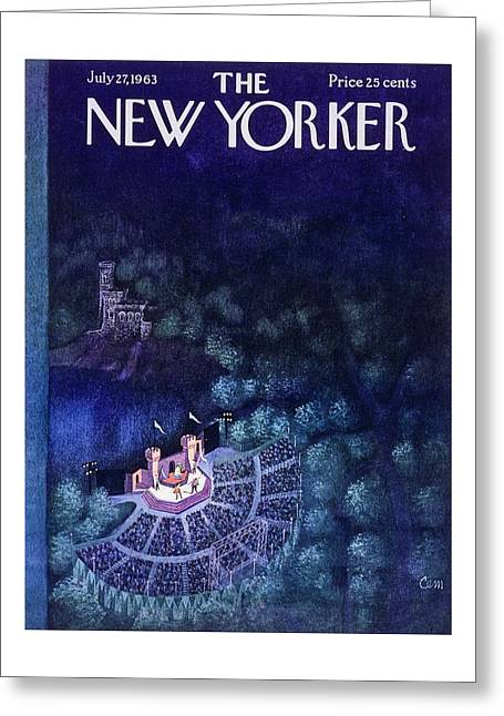 New Yorker July 27th 1963 Greeting Card