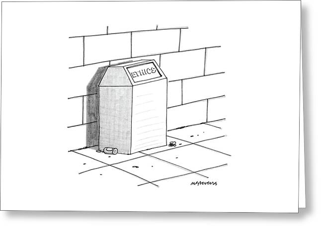 New Yorker July 27th, 1987 Greeting Card