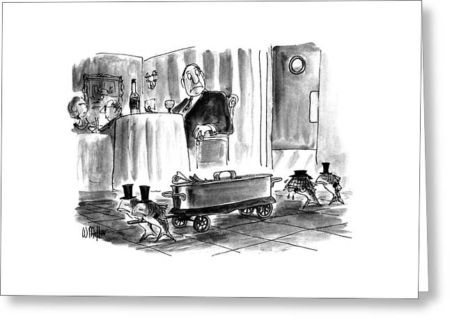 New Yorker July 27th, 1992 Greeting Card