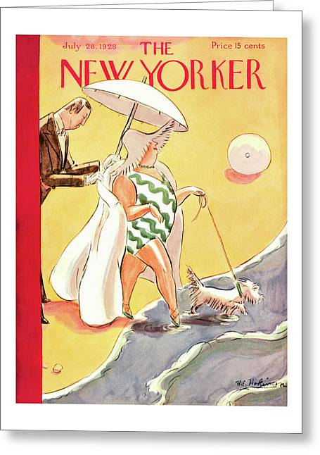 New Yorker July 28th, 1928 Greeting Card