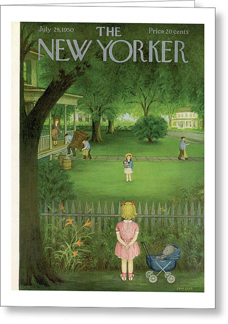 New Yorker July 29th, 1950 Greeting Card