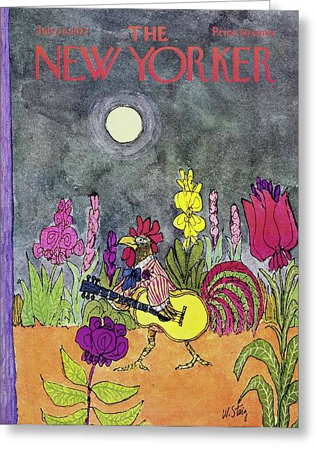 New Yorker July 29th 1972 Greeting Card