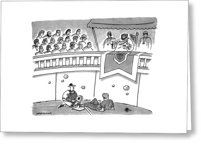 New Yorker July 29th, 1991 Greeting Card