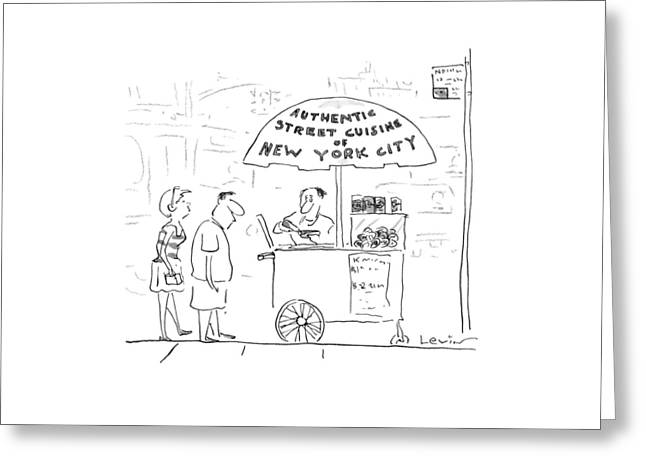 New Yorker July 29th, 1996 Greeting Card