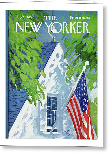 New Yorker July 2nd, 1966 Greeting Card
