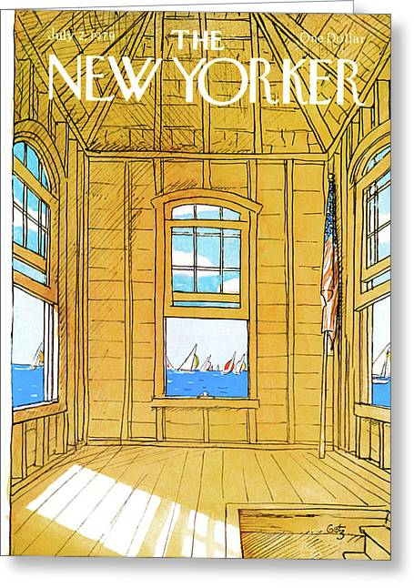 New Yorker July 2nd, 1979 Greeting Card by Arthur Getz
