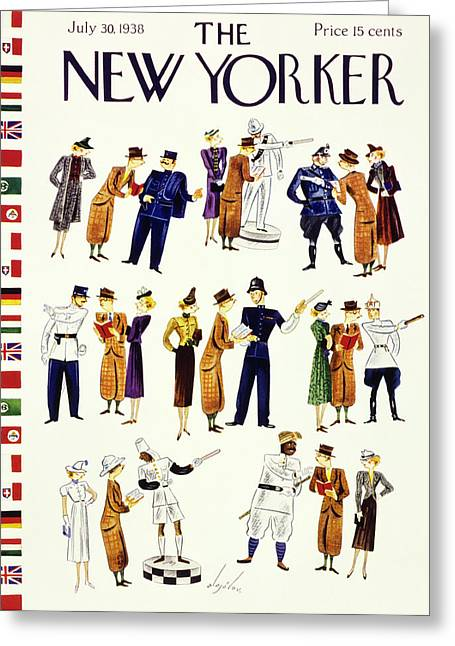 New Yorker July 30 1938 Greeting Card