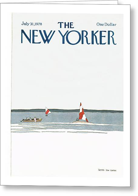 New Yorker July 31st, 1978 Greeting Card