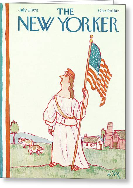 New Yorker July 3rd, 1978 Greeting Card