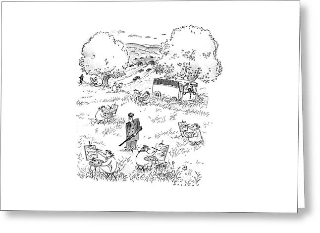 New Yorker July 4th, 1988 Greeting Card