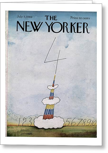 New Yorker July 5th, 1969 Greeting Card