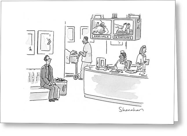 New Yorker July 5th, 1999 Greeting Card