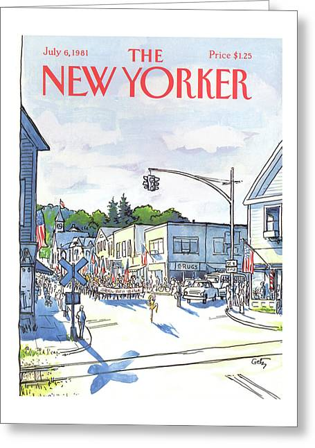 New Yorker July 6th, 1981 Greeting Card