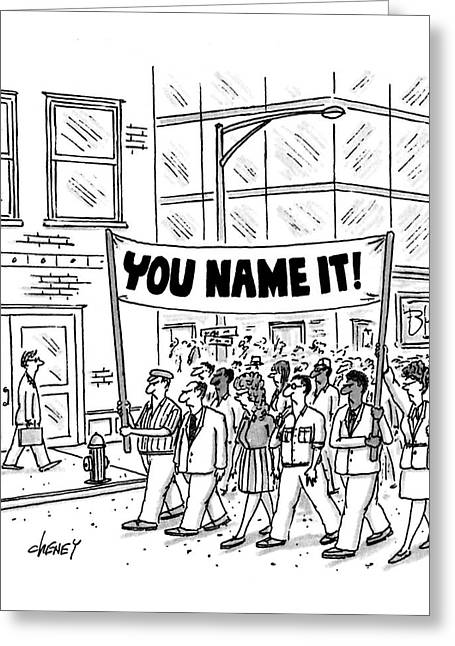 New Yorker July 6th, 1992 Greeting Card by Tom Cheney