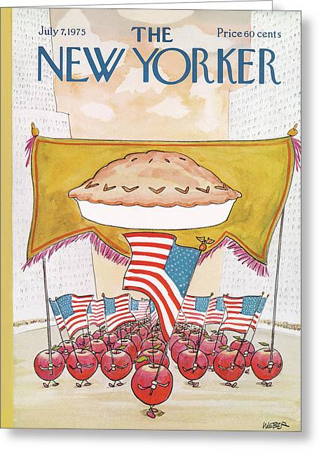 New Yorker July 7th, 1975 Greeting Card